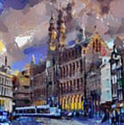 Amsterdam Daily Life Art Print