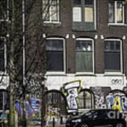 Amsterdam Graffiti Art Print