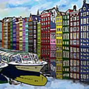 Amsterdam Holland Art Print