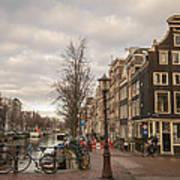 Amsterdam In A Nutshell Art Print
