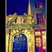 Amsterdam Postcard Art Print