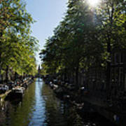 Amsterdam Spring - Green Sunny And Beautiful Art Print