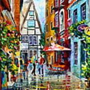 Amsterdam Street Art Print