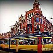 Amsterdam Transportation Art Print