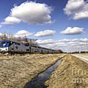Amtrak 66  Art Print