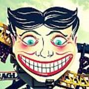 Amusement Smile Art Print