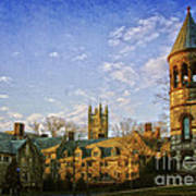 An Afternoon At Princeton Art Print