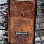 An Antique Mailbox Art Print