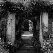 An Archway In The Garden Of Mrs. Carl Tucker Art Print