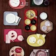 An Assortment Of Dinnerware Art Print