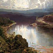 An Australian Fjord Art Print