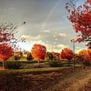An Autumn Rainbow Art Print