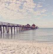 An Early Morning - Naples Pier Art Print