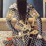 An Early Painting Of Fath Ali Shah Art Print