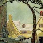 An English Country House Art Print