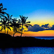 An Evening At Ko Olina Art Print