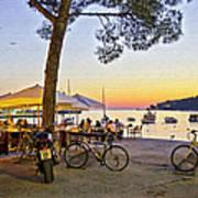 An Evening In Rovinj - Croatia Art Print
