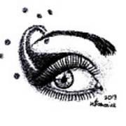 An Eye For Art Art Print