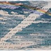 An Irishman's Philosophy Art Print