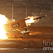 An Israel Defense Force Artillery Core Art Print