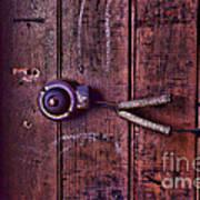 An Old Doorbell Art Print