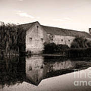 An Old Fortified Farm Art Print by Olivier Le Queinec