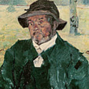 An Old Man, Celeyran, 1882 Oil On Canvas Art Print