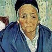 An Old Woman Of Arles Art Print
