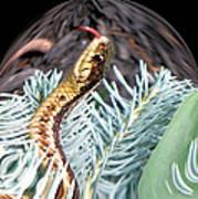 An Uncommon Garter Snake Art Print