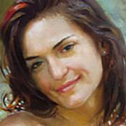 Ana 2010 Art Print