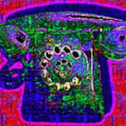 Analog A-phone - 2013-0121 - V4 Art Print