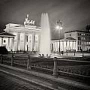 Analog Photography - Berlin Pariser Platz Art Print