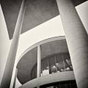 Analog Photography - Berlin Paul-loebe-haus Art Print