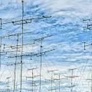 Analog Television Aerials Art Print
