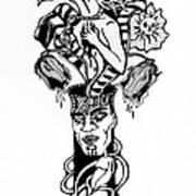 Anatomy Of Bouquet Art Print