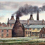Anchor Road Pot Works Art Print
