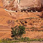 Ancient Anasazi Pueblo Canyon Dechelly Art Print