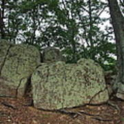 Ancient Boulders Art Print