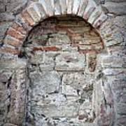 Ancient Bricked Up Window  Art Print