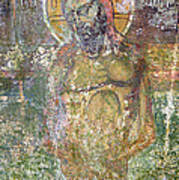 Ancient Christ Icon Art Print