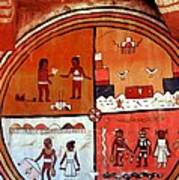 Ancient Drawings Art Print
