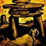 Ancient Grunge Art Print by John Malone