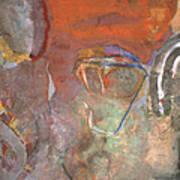 Ancient Orange Art Print