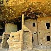 Ancient Pueblo Dwelling Ruins Art Print