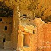 Ancient Pueblo Dwelling Ruins Two Art Print