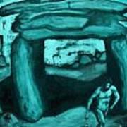Ancient Seen Through The Time Machine Art Print