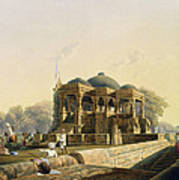 Ancient Temple At Hulwud, From Volume I Art Print