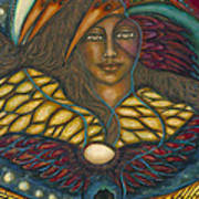 Ancient Wisdom Art Print by Marie Howell Gallery