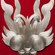 Andean Devil Mask Art Print
