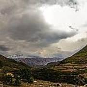 Andean Hills Art Print